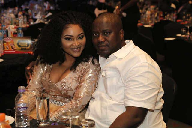 Nollywood Actress Mercy Aigbe and her husband Lanre Gentry
