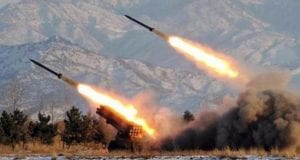 North Korea Intercontinental Ballistic Missile