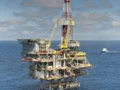 Offshore or Onshore Oil Rig