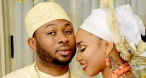 Oladunni Churchill and his wife Nollywood Actress Tonto Dikeh