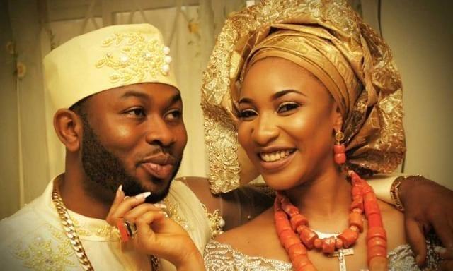 Oladunni Churchill and his wife Nollywood Actress Tonto Dikeh