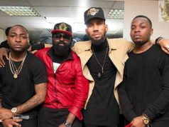 Olamide Davido Others at YBNL Concert In London