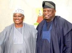 Oyo State Governor Abiola Ajimobi and Lagos State Governor Akinwumi Ambode