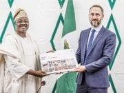 Oyo State Governor Abiola Ajimobi unveils Ibadan City Master Plan 1