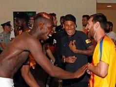 Pogba NeymarJunior and Lionel Messi