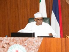 President Muhammadu Buhari Presides Over One of the FEC Meetings