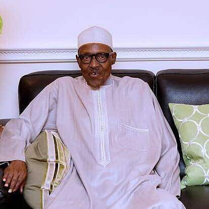 President Muhammadu Buhari in London UK