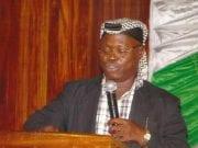 Professor Ishaq Akintola President Muslim Rights Concern MURIC