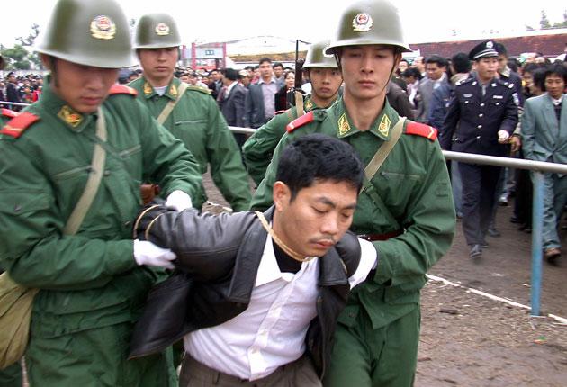 Public Execution of a Criminal