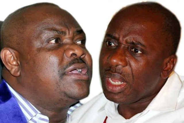 Rivers State Governor Nyesom Wike and Hon Rotimi Amaechi