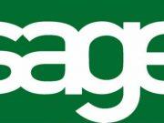 Sage Logo Green Background