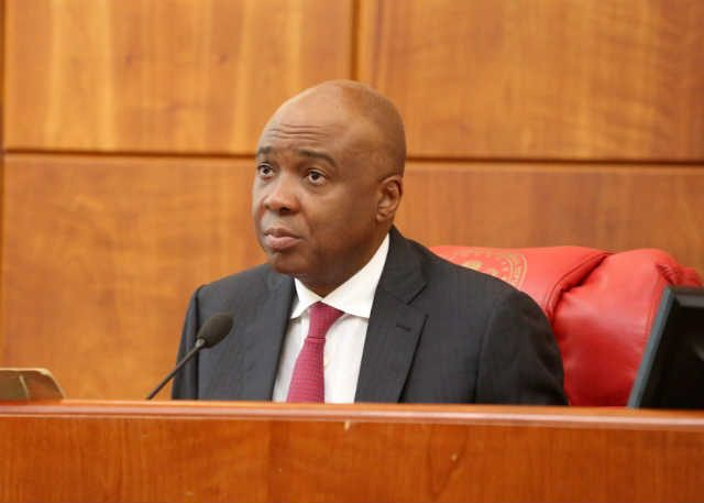 Senator Bukola Saraki Senate President of Nigeria