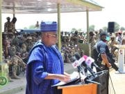 Shettima speaks at Sambisa event