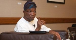 State of Osun Governor Rauf Aregbesola