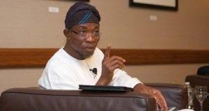 State of Osun Governor Rauf Aregbesola
