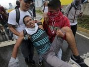 Tear Gas incidents during the Venezuela Anti Government Protest