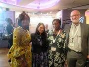 Toyin Ojora Saraki participated in the Family Planning Summit  in London United Kingdom from Monday  July to Tuesday  July