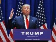 US President Donald Trump Make America Great Again