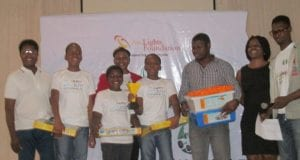 Winners of World Robot Olympiad Nigeria e