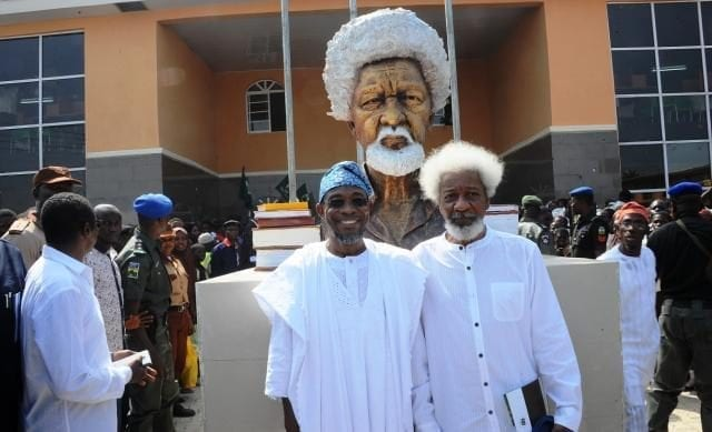 Wole Soyinka High School Statue in Osun State