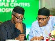 Yemi Osinbajo and Muhammadu Buhari