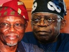 APC National Chairman, Chief John Odigie-Oyegun and Asiwaju Bola Tinubu