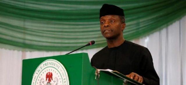 Acting / Vice President of Nigeria, Prof Yemi Osinbajo