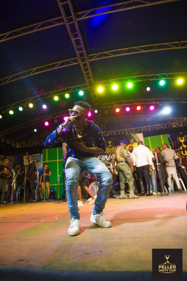 Airboy performing at the Peller Unity Cup 2017 Grand Finale