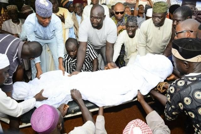 Osun State Governor Rauf Aregbesola's mother Alhaja Saaratu Aregbesola laid to rest