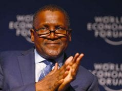 Alhaji Aliko Dangote, Chairman of Dangote Group at World Economic Forum