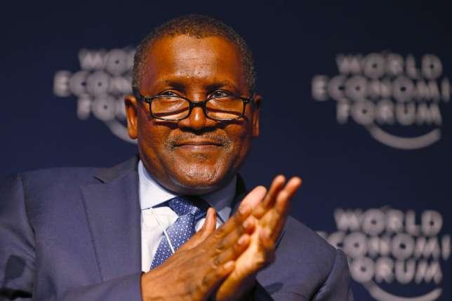 Alhaji Aliko Dangote, Chairman of Dangote Group at World Economic Forum