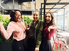 Facebook Student Challenge Award Winners 2017 - Peni Buckton, Claudia Bester and Lunje Jwambe