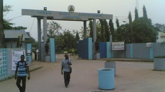 Front Gate of Lagos State Polytechnic (LASPOTECHH), Lagos, Nigeria