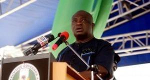Governor of Abia State, Dr Okezie Ikpeazu