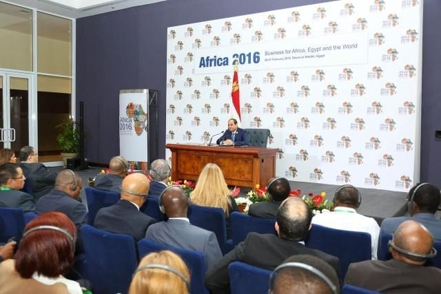 Heads of State and business leaders to gather at Africa 2016 Business for Africa, Egypt and the World