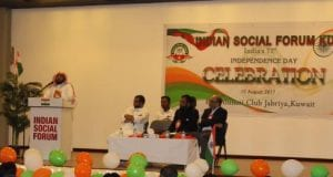 Indian Social Forum Kuwait celebrates India's 71st Independence Day