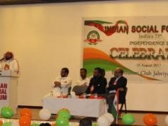 Indian Social Forum Kuwait celebrates India's 71st Independence Day
