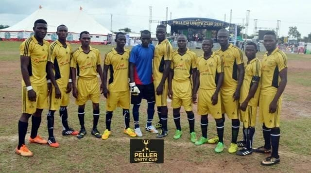 Iseyin FC winner at the Peller Unity Cup 2017 Grand Finale