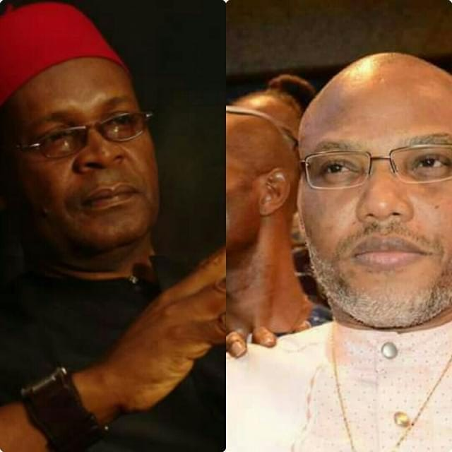Joe Igbokwe and Nnamdi Kanu