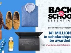 Jumia Back to School Season Sales and Free Shipping Offer