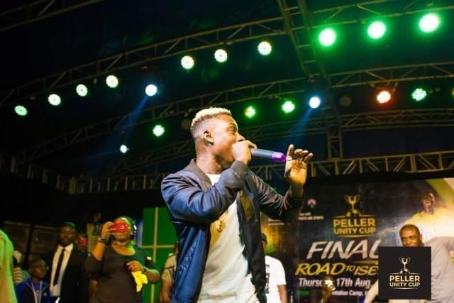 Junior Boy Performing at the Peller Unity Cup 2017 Grand Finale