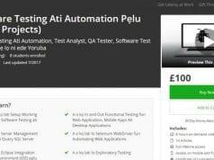 Kọ Software Testing Ati Automation Pẹlu (Real-Life Projects)