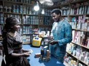 Lumos Mobile Electricity service in display in a store in Nigeria