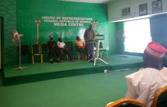 Nigerian Youth Parliament Session at the Nigerias House of Representative Media Centre, Abuja