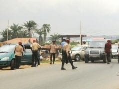 Nigeria's Federal Road Safety Corps (FRSC) Officials in Action
