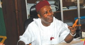 Nigeria's Minister of Science and Technology, Ogbonnaya Onu