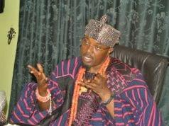 Oluwo of Iwo kingdom, Osun state, Oba (Dr.) AbdulRasheed Adewale Akanbi Ilufemiloye, Telu 1