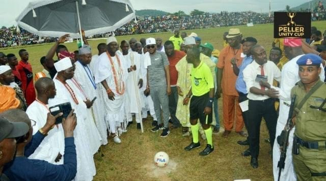 Ooni of Ife  at the Peller Unity Cup 2017 Grand Finale