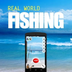 RealWorld Games Announces Augmented World Fishing Game:  Real World Fishing