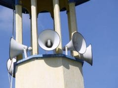 Religious Centre External speakers